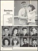 1991 Dover High School Yearbook Page 100 & 101