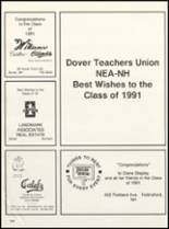 1991 Dover High School Yearbook Page 150 & 151