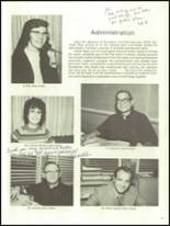 1972 St. Paul High School Yearbook Page 16 & 17