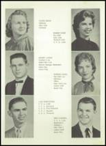 1958 Owasso High School Yearbook Page 16 & 17