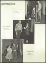1958 Owasso High School Yearbook Page 22 & 23