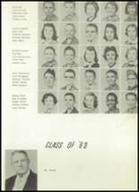 1958 Owasso High School Yearbook Page 34 & 35