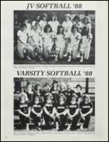 1989 Stillwater High School Yearbook Page 110 & 111