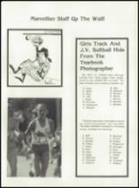 1980 Marcellus High School Yearbook Page 122 & 123