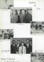 1966 St. John Vianney High School Yearbook Page 62 & 63