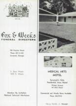 1966 St. John Vianney High School Yearbook Page 82 & 83