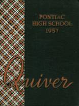 1957 Yearbook Pontiac Central High School