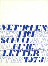 1973 Yearbook Metuchen High School