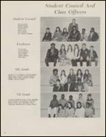 1971 Beggs High School Yearbook Page 34 & 35