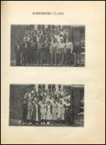 1936 Richwood High School Yearbook Page 142 & 143