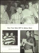 1967 Burges High School Yearbook Page 16 & 17