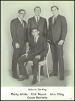 1967 Burges High School Yearbook Page 34 & 35