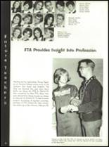 1967 Burges High School Yearbook Page 56 & 57