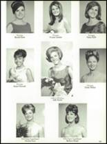 1967 Burges High School Yearbook Page 104 & 105
