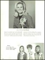 1967 Burges High School Yearbook Page 122 & 123