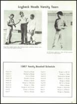1967 Burges High School Yearbook Page 146 & 147