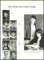 1967 Burges High School Yearbook Page 188 & 189