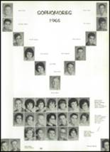 1965 Victoria High School Yearbook Page 126 & 127