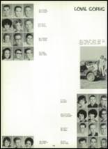 1965 Victoria High School Yearbook Page 136 & 137