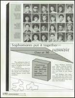 1988 Hillcrest High School Yearbook Page 144 & 145