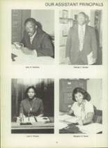 1971 Dunbar High School Yearbook Page 22 & 23