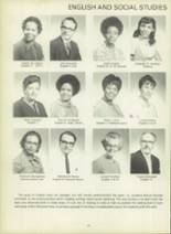 1971 Dunbar High School Yearbook Page 24 & 25