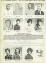 1971 Dunbar High School Yearbook Page 30 & 31