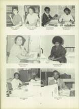 1971 Dunbar High School Yearbook Page 32 & 33