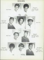 1971 Dunbar High School Yearbook Page 40 & 41