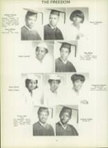 1971 Dunbar High School Yearbook Page 46 & 47
