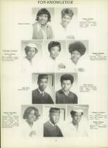 1971 Dunbar High School Yearbook Page 48 & 49