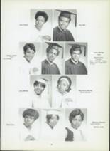 1971 Dunbar High School Yearbook Page 52 & 53