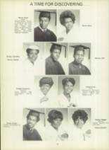 1971 Dunbar High School Yearbook Page 56 & 57