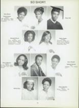 1971 Dunbar High School Yearbook Page 58 & 59