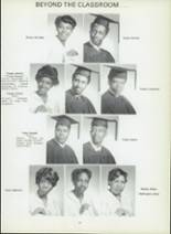 1971 Dunbar High School Yearbook Page 60 & 61