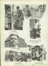 1971 Dunbar High School Yearbook Page 102 & 103