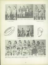 1971 Dunbar High School Yearbook Page 124 & 125