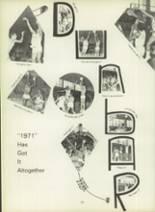 1971 Dunbar High School Yearbook Page 140 & 141