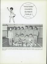 1971 Dunbar High School Yearbook Page 148 & 149