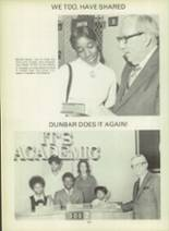 1971 Dunbar High School Yearbook Page 158 & 159