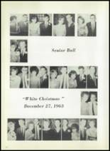 1964 Belmont Central School Yearbook Page 22 & 23