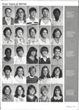 1981 Wills Point High School Yearbook Page 160 & 161