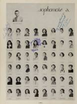 1952 Eastern High School Yearbook Page 136 & 137