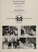 1952 Eastern High School Yearbook Page 152 & 153