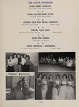 1952 Eastern High School Yearbook Page 162 & 163