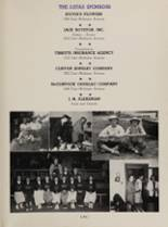 1952 Eastern High School Yearbook Page 168 & 169
