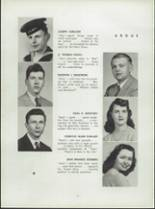 1945 Shelton High School Yearbook Page 16 & 17