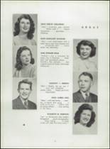 1945 Shelton High School Yearbook Page 18 & 19