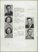 1945 Shelton High School Yearbook Page 24 & 25