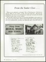 1986 King-Drew Medical Magnet High School Yearbook Page 64 & 65